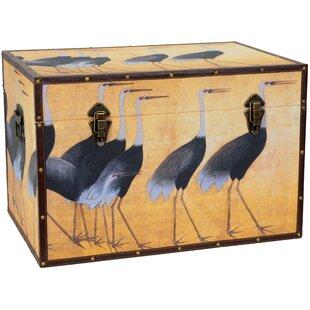 Cranes Storage Trunk by Oriental Furniture