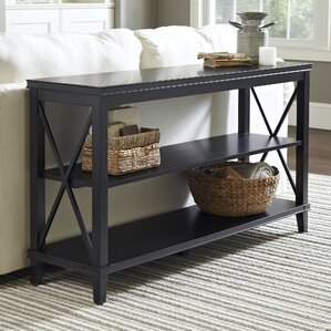 larksmill console table black larksmill console table