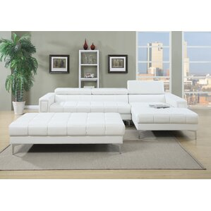 White Sectional Sofas Youll Love