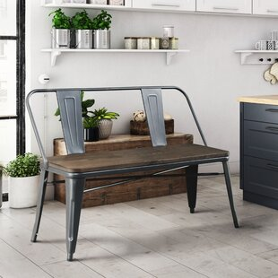 Trent Austin Design Fort Fairfield Metal Bench