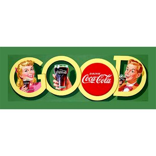 Good Coke Vintage Advertisement on Wrapped Canvas By Trademark Fine Art