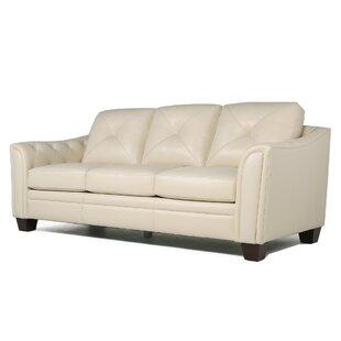 Red Barrel Studio Chiang Top Grain Leather Standard Sofa