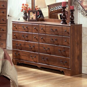 Elle 8 Drawer Double Dresser