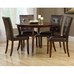 Miramar 5 Piece Dining Set by Winston Porter Today Sale Only