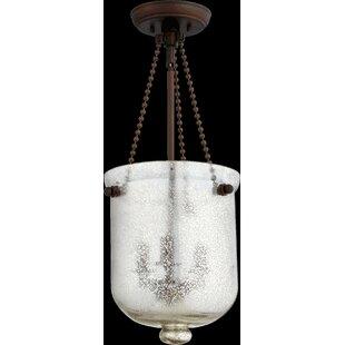 Palmieri 3-Light Urn Pendant by Gracie Oaks