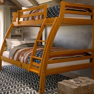 Harriet Bee Durrell Twin Over Full Bunk Bed with Ladder