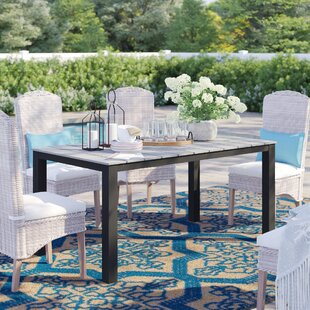 Windsor Solid Wood Dining Table by Sol 72 Outdoor