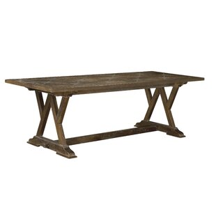 Plaisance Solid Wood Dining Table by One Allium Way