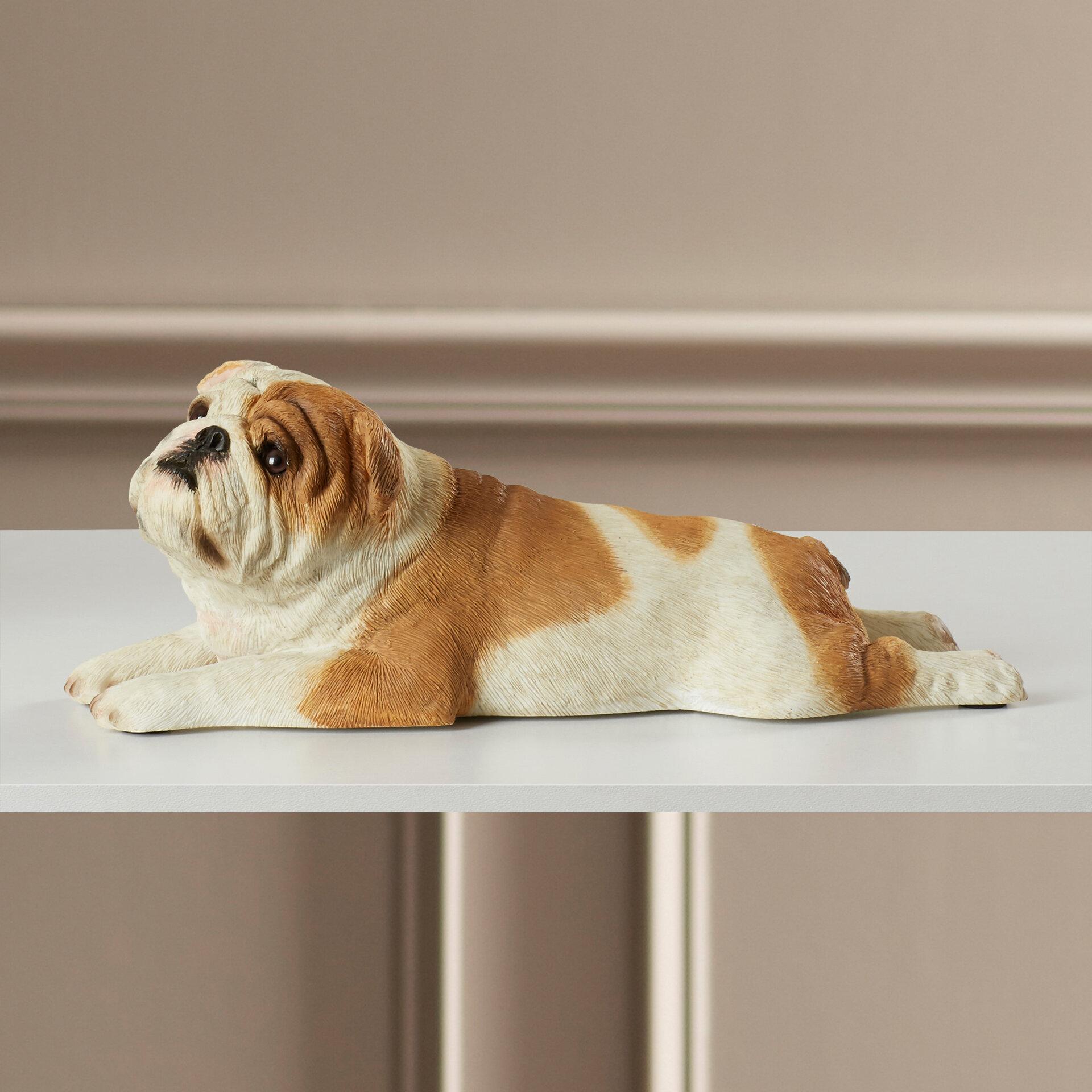 Darby Home Co Bulldog Figurine Reviews Wayfair
