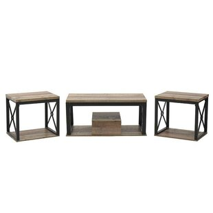 Charbonneau 3 Piece Coffee Table Set By Williston Forge