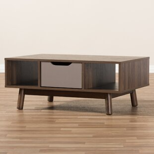 Compare & Buy Hilson Mid-Century Modern Wood Coffee Table By Wrought Studio