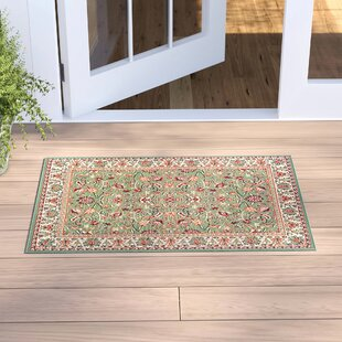 Alexandria Sage Green Indoor/Outdoor Area Rug
