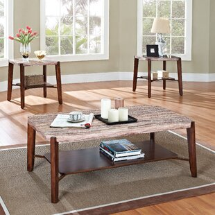 Best Reviews Barth 3 Piece Coffee Table Set ByMillwood Pines