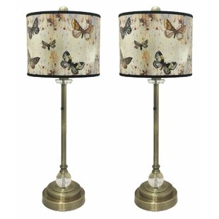Moylan Crystal 28 Buffet Lamp (Set of 2)