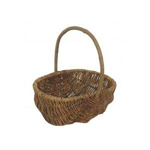 Einkaufskorb aus Weidenholz von Willow Direct Ltd