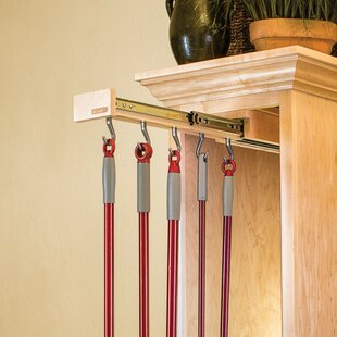 Glideware Pull-Out Organizer Hook with Ball-Bearing Slide System