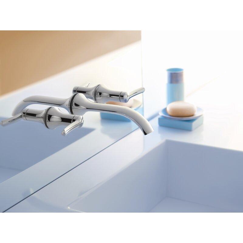 Moen Fina Wall Mounted Bathroom Faucet