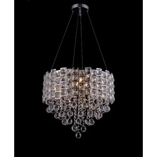 Haskell 6-Light Crystal Chandelier by Hou..