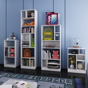 Stromsburg 4 Piece Standard Bookcase by Latitude Run Comparison
