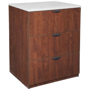 Linh Stand Up 3-Drawer Vertical Filing Cabinet by Latitude Run #1