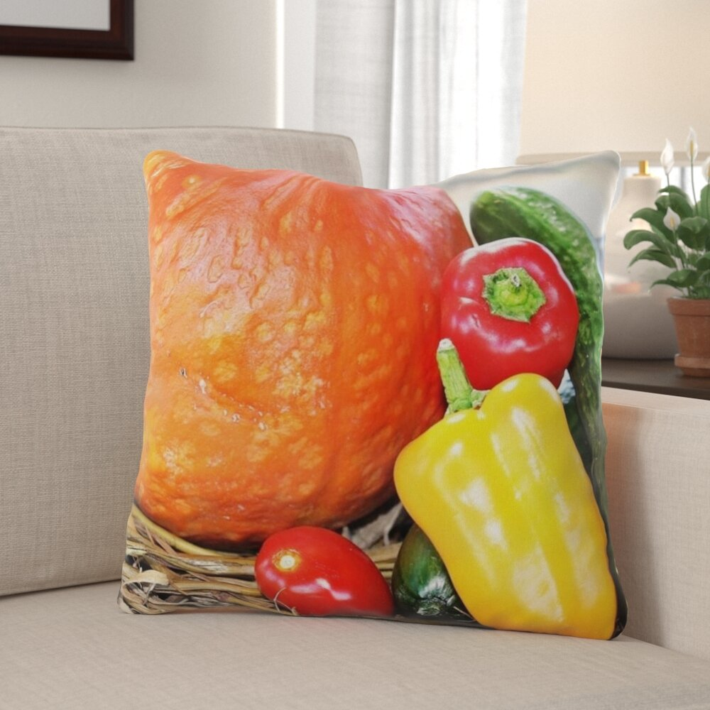 The Holiday Aisle Mullican Thanksgiving Indoor Outdoor Throw Pillow Wayfair