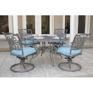 Charlton Home Woolsey 5 Piece Dining Set
