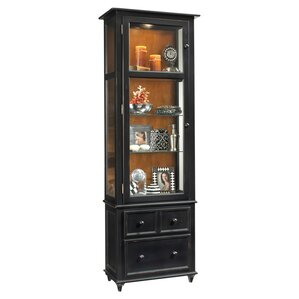 ColorTime Vista Lighted Curio cabinet by Philip Reinisch Co.