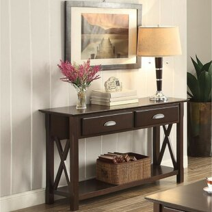 Review Parker Transitional Console Table By Winston Porter