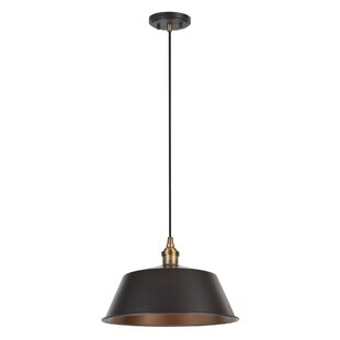 Aspen Creative Corporation 1-Light Bowl Pendant