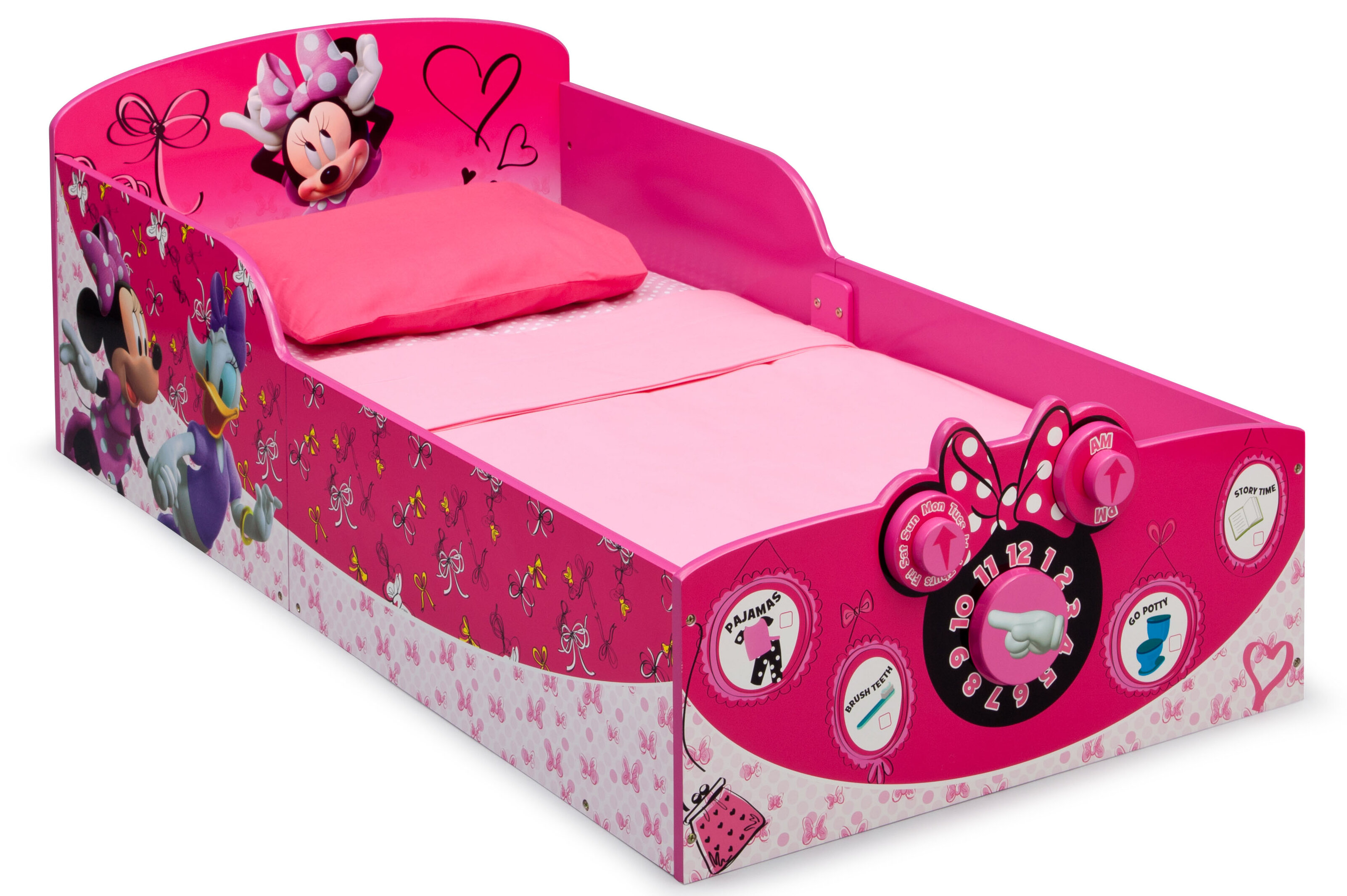 Delta Children Twinkle Galaxy Dual Sided Recycled Fiber Core Crib and Toddler Mattress Nick Jr PAW Patrol Bundle Delta Children 3D-Footboard Toddler Bed