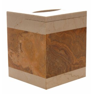 Bloomsbury Market Polished Marble Keller Tissue Box Cover