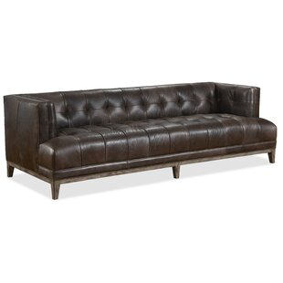 Citizen Stationary Leather Sofa