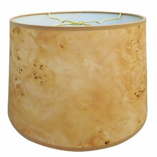 Wood Texture Hardback Paper Drum Lamp Shade