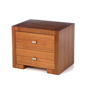 Hibbler 2 Drawer Nightstand
