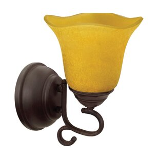 Bon Valencia 1 Light Battery Operated Armed Sconce