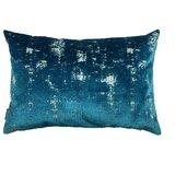 """Niki Feathers Velvet 16"""" Pillow Cover & Insert"""