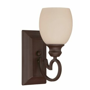 Calumet Vanity Armed Sconce by Fleur De Lis Living