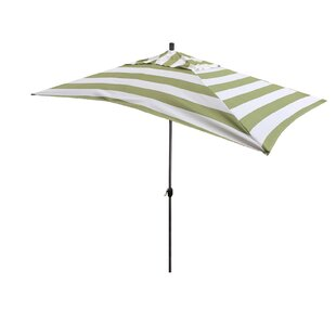 Breakwater Bay Jalynn 10' x 6' Rectangular Market Umbrella
