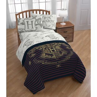 Harry Potter Spellbound 4 Piece Microfiber Sheet Set