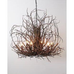 Loon Peak Torrez Branch Twig 6-Light Candle Style Chandelier
