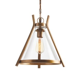 Wrought Studio Horton 1-Light Cone Pendant