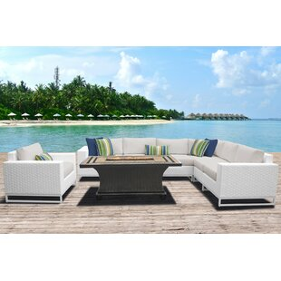 Miami 8 Piece Sectional Set With Cushions
