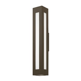 Buy luxury Hollenbeck 2-Light Outdoor Sconce By Latitude Run