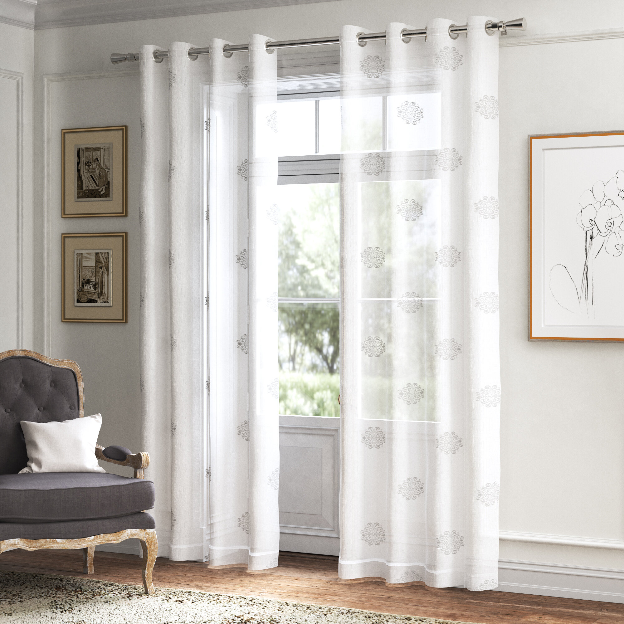 Nautical Curtains Drapes Free Shipping Over 35 Wayfair
