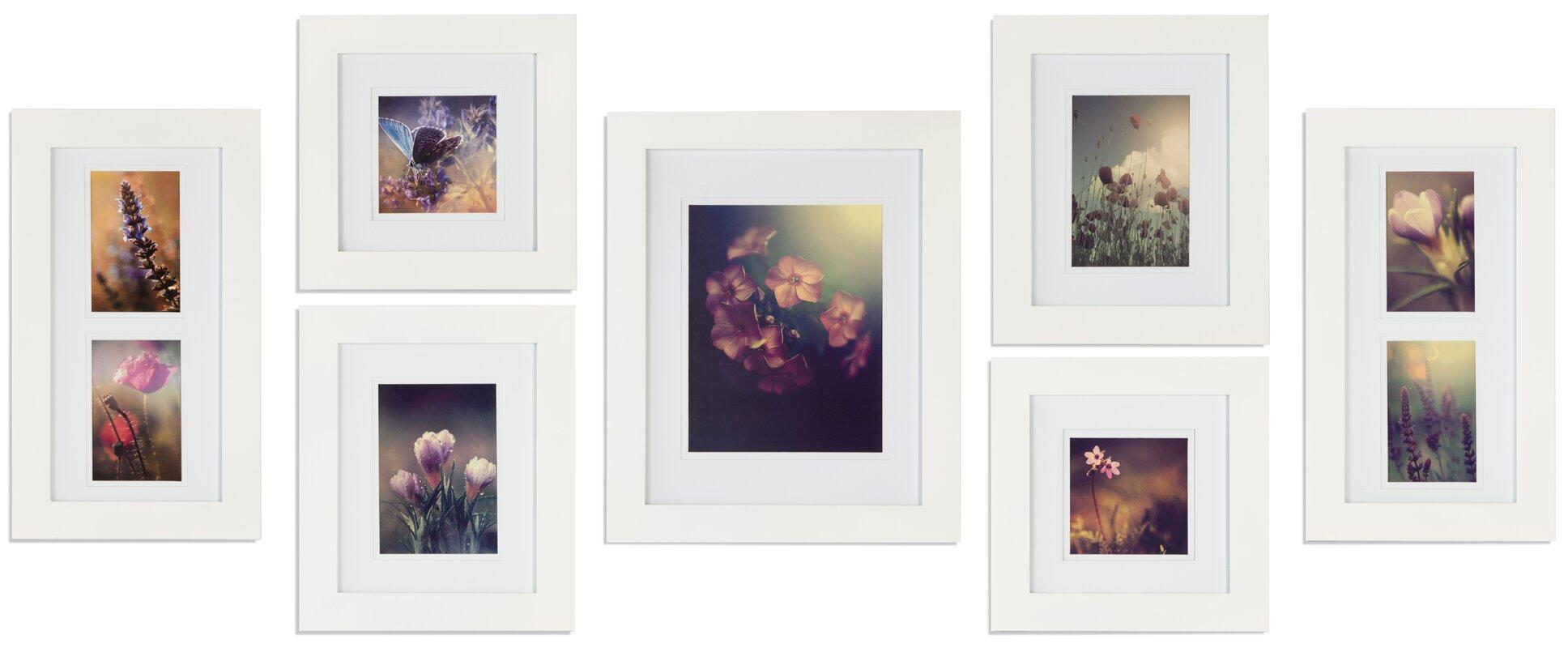 Nielsenbainbridge gallery solutions 7 piece picture frame set gallery solutions 7 piece picture frame set jeuxipadfo Images