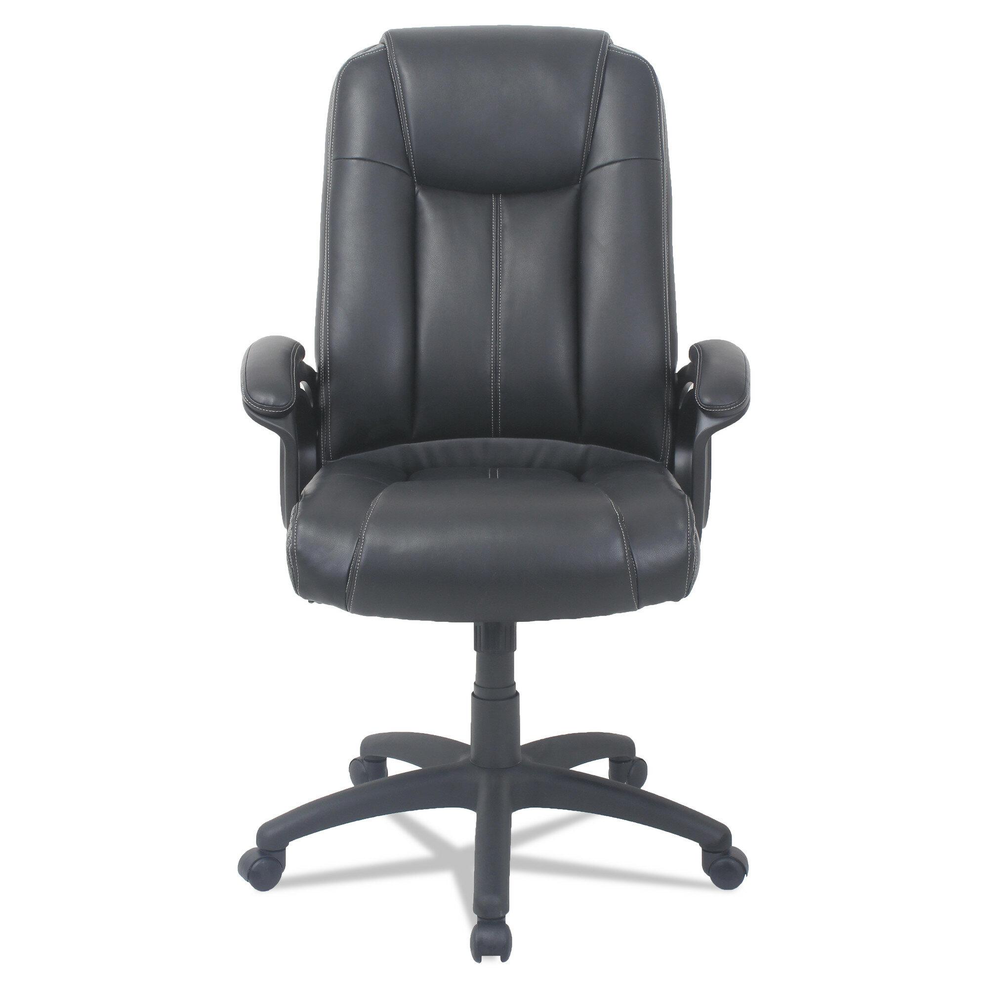 Otwell High Back Genuine Leather Task Chair