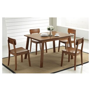 Fine 5 Piece Dining Set by George Oliver