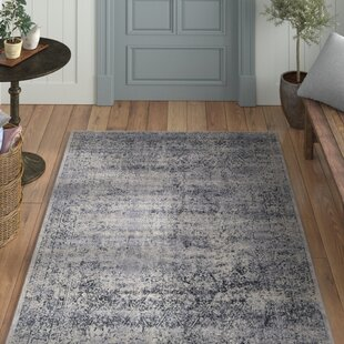 Abbeville Eclectic Dark Gray Area Rug by Laurel Foundry Modern Farmhouse