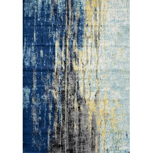 Best Price Stevensville Blue Area Rug By Trent Austin Design