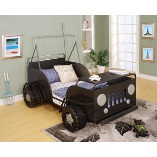 Find the perfect Amiya Twin Car Bed by Zoomie Kids Reviews (2019) & Buyer's Guide